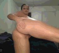 Пышная сучка - порно гифки