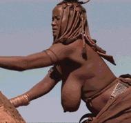 Африканская мама - порно гифки