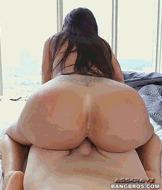 Гигантский зад - порно гифки