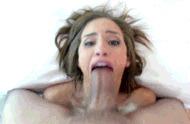 Оральная работа - порно гифки
