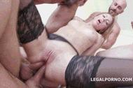 Русская анальная шлюха - порно гифки
