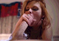 Рыжая милфа - порно гифки