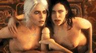 Секс с Трисс - порно гифки