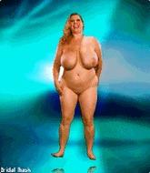 Толстая дамочка - порно гифки