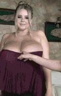Толстые титьки - порно гифки