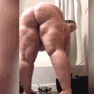 Жирные бабенки - порно гифки