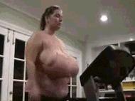 Жирные телки - порно гифки